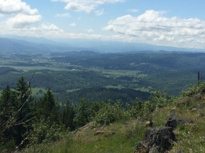 Spencer Butte View 1