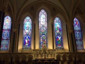 Dublin St. Patricks Windows