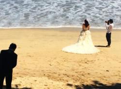 Indonesia - Bride on Beach Bali