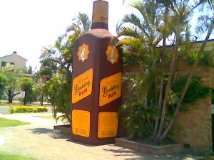 Rum Bottle