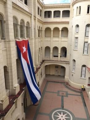 Cuba - Flag at Museum